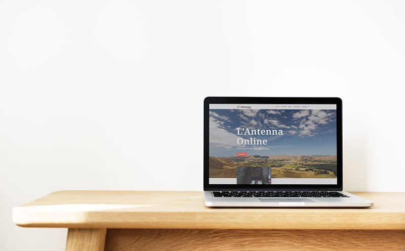 Sito Web L'Antenna Online di Caltanissetta